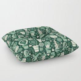 Paisley succulents Floor Pillow