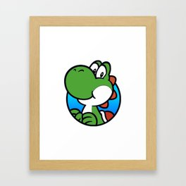 Dinosaur Companion Framed Art Print