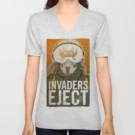 Invaders Eject Unisex V-Neck