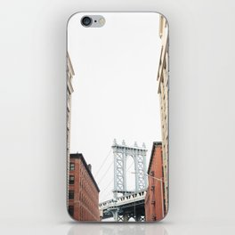 DUMBO BROOKLYN iPhone Skin