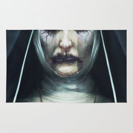 Valak the Nun Rug