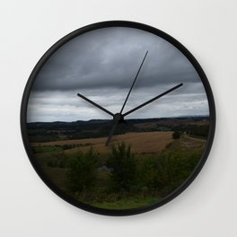 Breathing Spaces Wall Clock