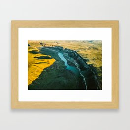 Snake River, ID Framed Art Print