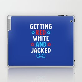 Getting Red, White And Jacked Laptop & iPad Skin