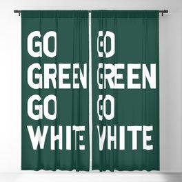 Go Green Go White Blackout Curtain