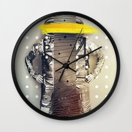 TORN BY PROPULSION Wall Clock