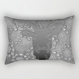 REINDEER AND DIAMONDS Rectangular Pillow