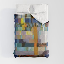 Up The Creek Without A Poodle (Provenance Series) Comforters