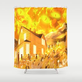 Look At The Sky, It's Looking Back  Shower Curtain