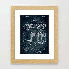 1941 Military vehicle body patent Framed Art Print