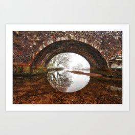 Two Bridges Art Print