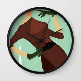 Paris 1960 Wall Clock