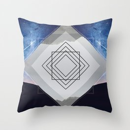 Synchronicity • Window of Time Throw Pillow