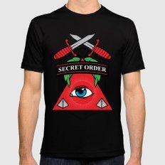 Secret Order MEDIUM Mens Fitted Tee Black