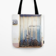 Bird and Bicycle. Tote Bag