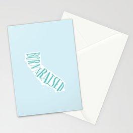 California Born & Raised Stationery Cards