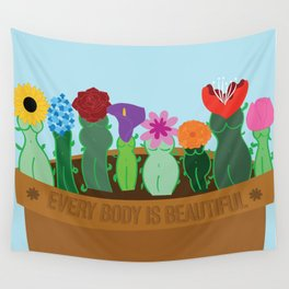Every Body Is Beautiful Wall Tapestry