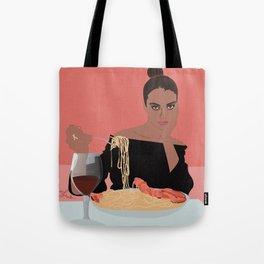PASTA LADY Tote Bag