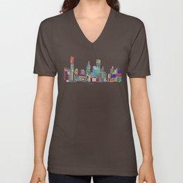 Houston Unisex V-Neck