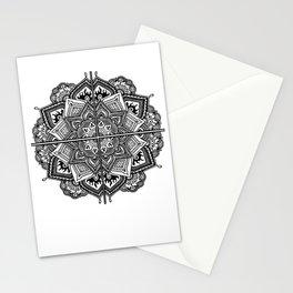 Mandala Fleur Stationery Cards
