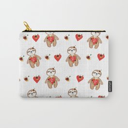 Sloth bear valentines Carry-All Pouch