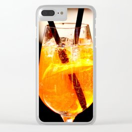 Cheers! Cocktail Drink #decor #society6 Clear iPhone Case
