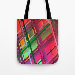 Striping Confusion Tote Bag