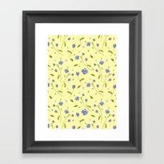Botanical Print (Hound's Tongue)  Framed Art Print