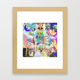 Sad Queen Framed Art Print