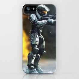 Fire Fight iPhone Case