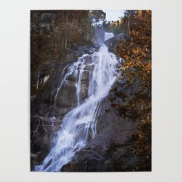 Tranquility Of Creation - Waterfall Art Poster