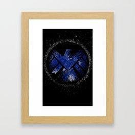 Avengers - SHIELD Framed Art Print