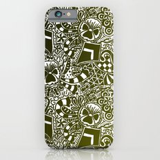 Theta Print-Black & Gold Slim Case iPhone 6s