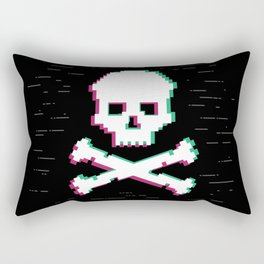 Game Over Glith Rectangular Pillow
