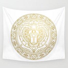Scarabeus Mandala – Egypt Wall Tapestry
