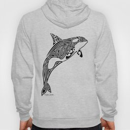 Tribal Orca Hoody