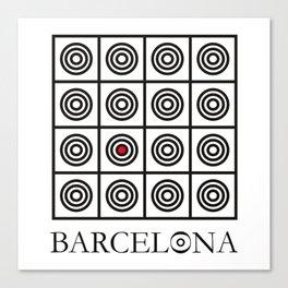Barcelona #2 Canvas Print
