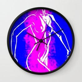 Stripe Nude Wall Clock
