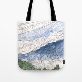 Early Morning from Goat Rock 2 Tote Bag