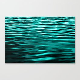 Ocean Reflection Waves Canvas Print