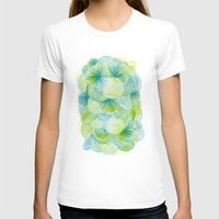 lime T-shirts featuring Space lime by Marcelo Romero