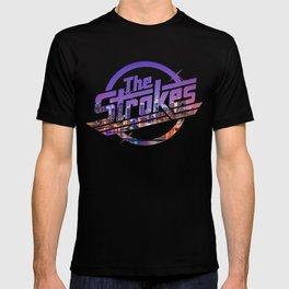 The Strokes Logo New York Night T-shirt