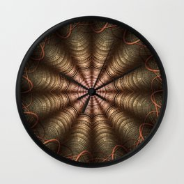The Fabric Of The Space-Time Continuum Wall Clock