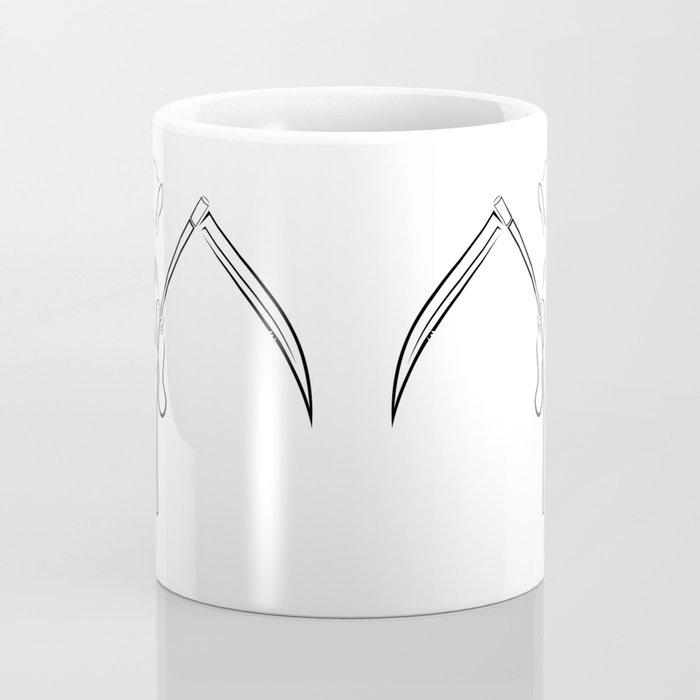Gevatter / Godfather / Grim HIP HOP for Halloween Coffee Mug