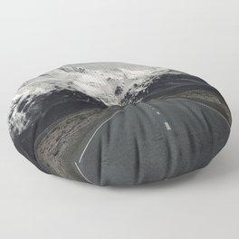Road Floor Pillow