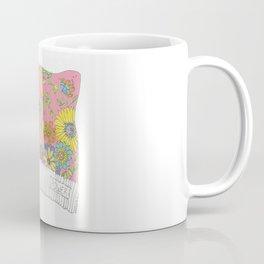 Pink Pussy Cat Hat Coffee Mug