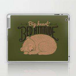 Big Heart Bed Attitude Laptop & iPad Skin