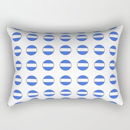 Flag of argentina 2 -Argentine,Argentinian,Argentino,Buenos Aires,cordoba,Tago, Borges. Rectangular Pillow