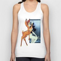 givenchy Tank Tops featuring Givenchy Bambi by cvrcak