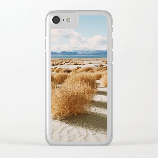 Paiute Land Clear iPhone Case